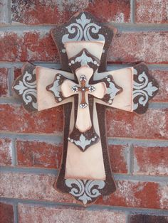 Wall Of Crosses Lafuente Com Mexican Decor Handmade