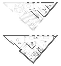 1000+ images about Triangle House Plan on Pinterest