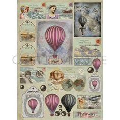 1000 images about Mongolfiere on Pinterest  Hot air balloon Balloons and Ceramica