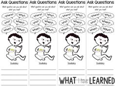 1000+ images about Reading Comprehension Activities on