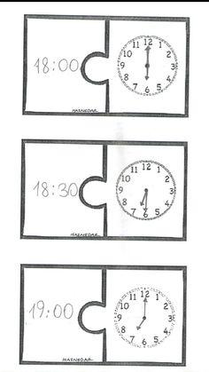 2. Sınıf Matematik Tam Ve Yarım Saatler Okuma Çalışması
