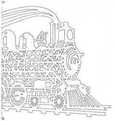 Sports car pattern. Use the printable outline for crafts
