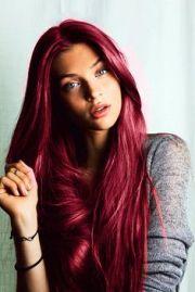 red velvet hair -beautiful