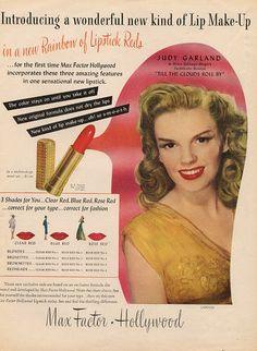 Resultado de imagen de lipsticks de max factor hollywood