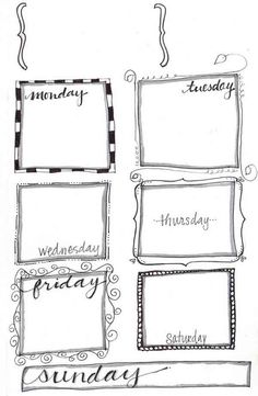 Printable to do list (various layouts) for planner for ARC