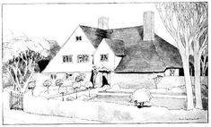 Cob House built by Mr. Ernest Gimson, near Budleigh