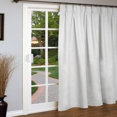 Extra Wide Patio Door Curtain The Lakeside Collection Curtains