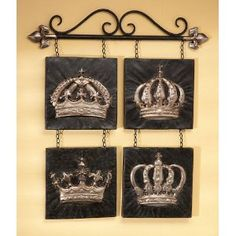 Crown Decor C R O W N S Pinterest Design Love The And Wall Art
