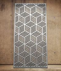 Geometric | Miles and Lincoln | Laser cut screens | Laser ...