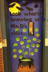 My purple minion door despicable me 2 | Classroom doors ...
