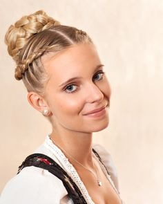 Hairstyle that goes perfectly with your Dirndl
