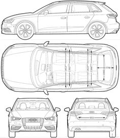 Audi a3 and Audi on Pinterest
