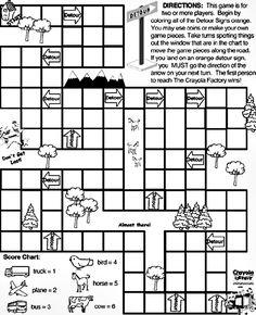 Travel Games including Slug Bug Graph and License Plate