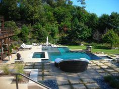 Bilder Von Pool Im Garten Mediterran Pool Balustrade Landschaft Architektur Moderne Hauser Und Gebaude Pinterest Pools Balustrade And Im