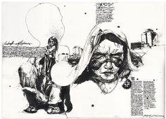 Hope, Ballpoint pen and Ballpoint pen art on Pinterest