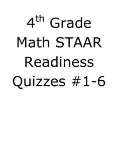 STAAR Writing Revision Practice- 4th Grade {free