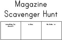 1st grade Reading Worksheets: Table of contents and index
