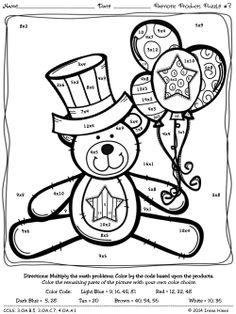Summer Color By Number Coloring Pages Downloading colori