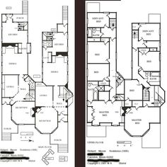 First Floor Plan : Susan Lawrence Dana-Thomas House