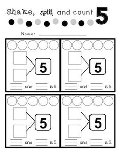 1000+ ideas about Number Bonds Worksheets on Pinterest