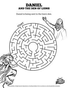 Sunday school activities about Daniel...the writing on the