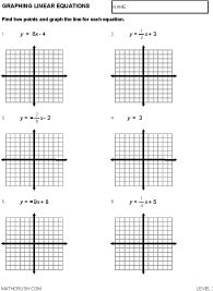Eighth Grade Solving Inequalities Worksheet 05 One Page