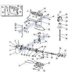 MOWER DECK Diagram & Parts List for Model 917270810