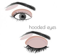 """How To Apply <a class=""""pintag"""" href=""""/explore/Makeup"""" title=""""#Makeup explore Pinterest"""">#Makeup</a> For Your Eye Shape: Great tips! It's amazing what a few small changes can make!"""