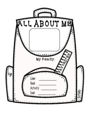 All About Me FREE: Enjoy this FREE All About Me worksheet