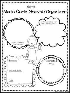 Marie Curie para niños: un mes, un personaje