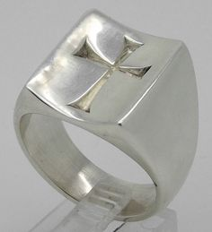 James Avery Mens Ring James Avery Large Cross Ring In