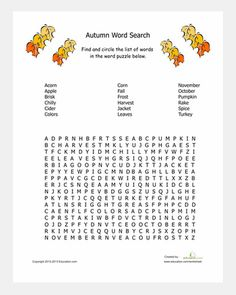 Word search puzzles, Word search and Hard words on Pinterest