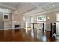 Coffer ceiling with a 8 ft tall room | home ideas ...