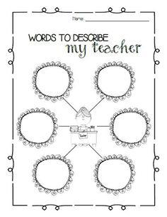Teaching, Teacher appreciation and Teacher worksheets on