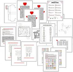 Crossword puzzle templates for Preschool through Grade 3