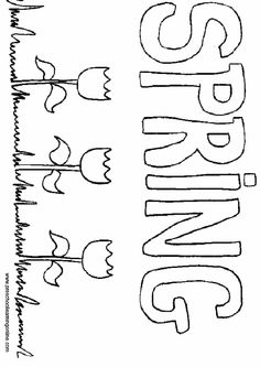 1000+ images about Coloring Pages {Spring} on Pinterest
