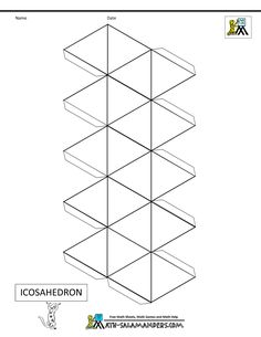 1000+ images about 3D Geometric box templates on Pinterest