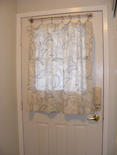 BACK Door FRONT Door Curtain Custom Made My Shop Pinterest