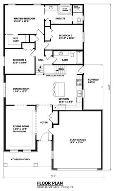 1000+ images about For the Home: Floor Plans on Pinterest