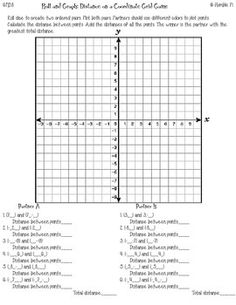 Coordinate Plane Graphing Activity! Great for the End of