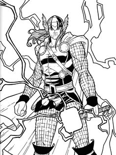 1000+ images about Marvel Coloring Pages on Pinterest