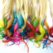 1000 ideas hair tips dyed