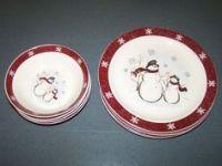 Royal Seasons Snowman Stoneware Christmas Holiday ...