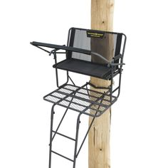 high chair deer stand modern outdoor swing tree stands 52508 ladder 16 swivel seat rivers edge treestands syct 2 man resolution image