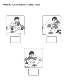 Picture Sequence Learning, Arrange Series of Pictures