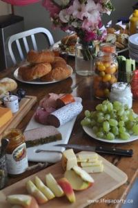Paris Party Food -A French Themed Menu Great ideas of what ...