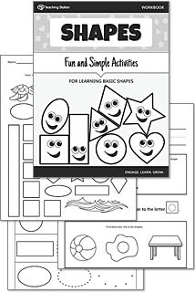 Shape Sorting: Place the Circles and Squares into the