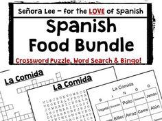 La Comida-Spanish Restaurant Dialogue Script- Spanish I