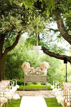 Lovely Outdoor Garden Wedding By Bliss Weddings & Events Gardens