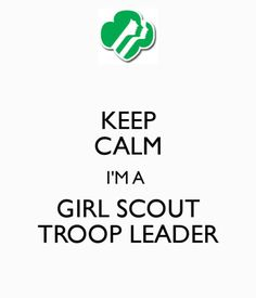 Girl Scout silhouette using words from Promise and Law